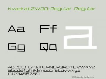 KvadratZW00-Regular