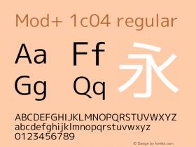 Mod+ 1c04