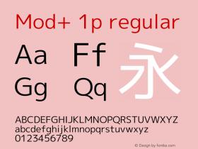 Mod+ 1p