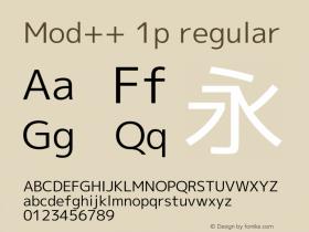 Mod++ 1p