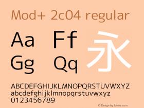 Mod+ 2c04