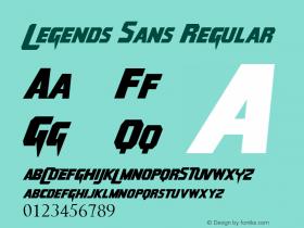 Legends Sans