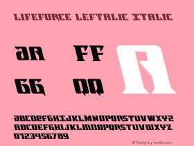 Lifeforce Leftalic