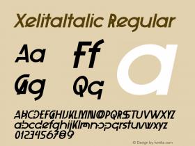 XelitaItalic