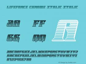 Lifeforce Chrome Italic
