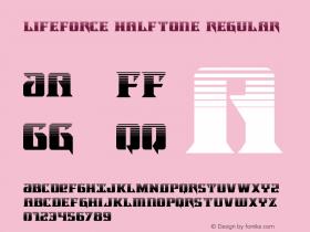 Lifeforce Halftone