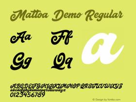 Mattoa Demo
