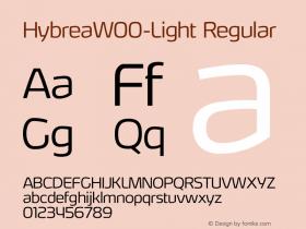 HybreaW00-Light