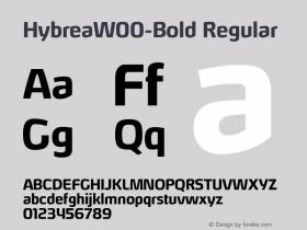 HybreaW00-Bold