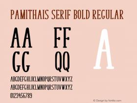 Pamithais Serif Bold