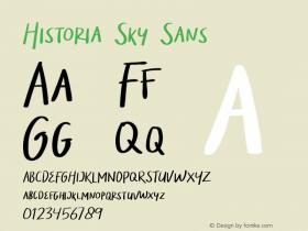 Historia Sky