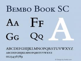 Bembo Book