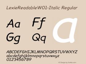 LexieReadableW01-Italic