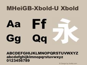 MHeiGB-Xbold-U