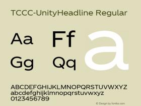 TCCC-UnityHeadline