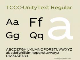 TCCC-UnityText