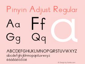 Pinyin Adjust