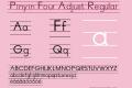 Pinyin Four Adjust