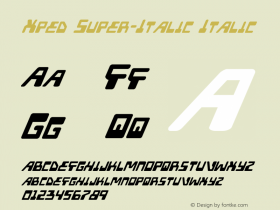 Xped Super-Italic