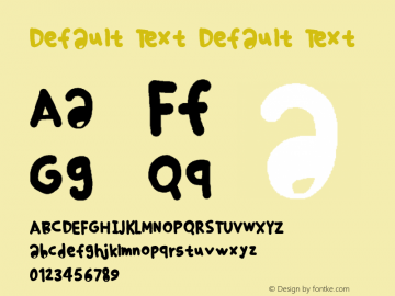 Default Text