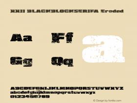 XXII BLACKBLOCKSERIFA
