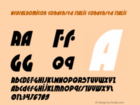 Neuralnomicon Condensed Italic
