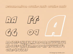 Neuralnomicon Outline Italic