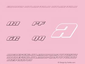 Capricus Outline Italic
