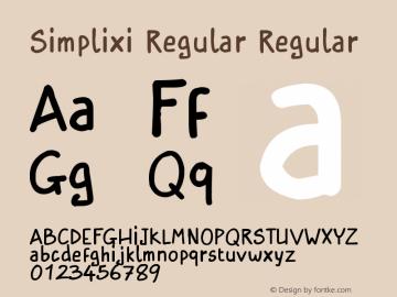 Simplixi Regular