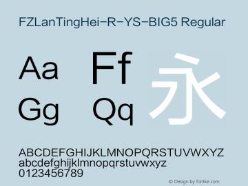FZLanTingHei-R-YS-BIG5