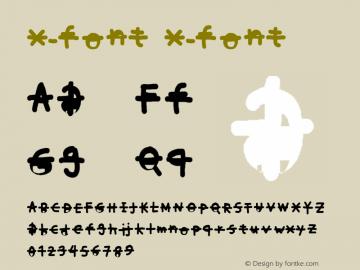 x-font