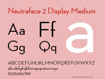 Neutraface 2 Display