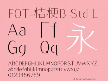 FOT-桔梗B Std
