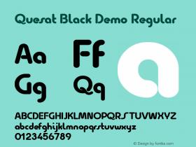 Quesat Black Demo