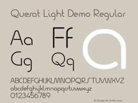 Quesat Light Demo