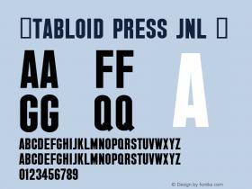 ☞Tabloid Press JNL
