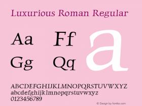 Luxurious Roman
