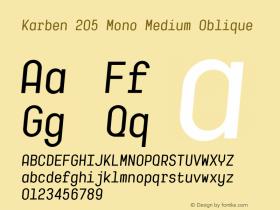 Karben 205 Mono