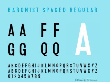 Baronist_Spaced