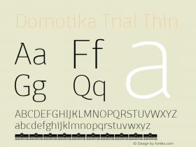 Domotika Trial