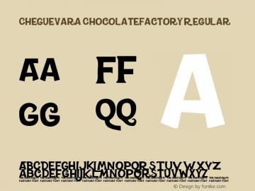 CheGuevara ChocolateFactory