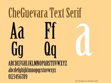CheGuevara Text