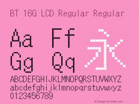BT 16G LCD Regular
