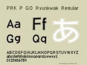 PRK P GO Ryunkwak