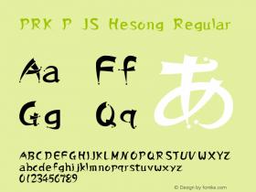 PRK P JS Hesong