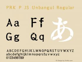 PRK P JS Unbangul