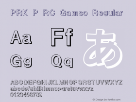 PRK P RC Gamso