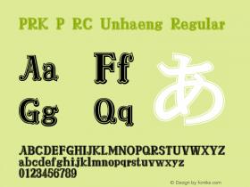 PRK P RC Unhaeng