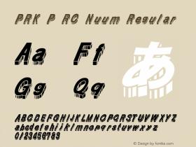 PRK P RC Nuum