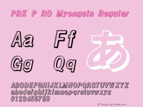 PRK P RC Myongsin